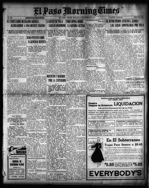 Primary view of object titled 'El Paso Morning Times (El Paso, Tex.), Vol. 36TH YEAR, Ed. 1, Tuesday, January 4, 1916'.