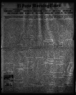 Primary view of object titled 'El Paso Morning Times (El Paso, Tex.), Vol. 36TH YEAR, Ed. 1, Thursday, January 6, 1916'.