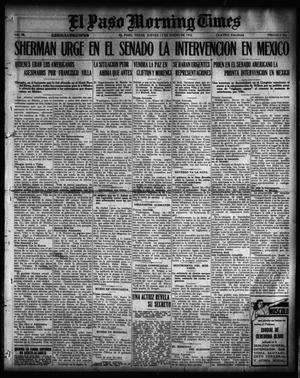 Primary view of object titled 'El Paso Morning Times (El Paso, Tex.), Vol. 36TH YEAR, Ed. 1, Thursday, January 13, 1916'.