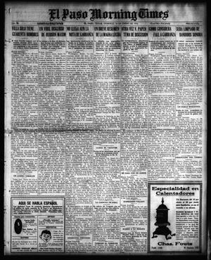 Primary view of object titled 'El Paso Morning Times (El Paso, Tex.), Vol. 36TH YEAR, Ed. 1, Sunday, January 16, 1916'.