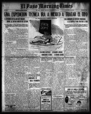 Primary view of El Paso Morning Times (El Paso, Tex.), Vol. 36TH YEAR, Ed. 1, Tuesday, January 18, 1916