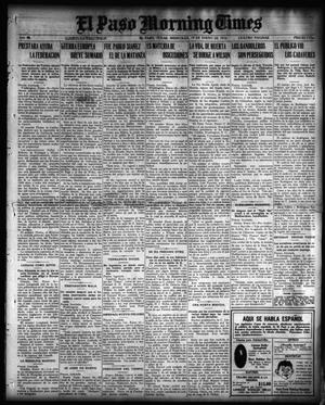 Primary view of object titled 'El Paso Morning Times (El Paso, Tex.), Vol. 36TH YEAR, Ed. 1, Wednesday, January 19, 1916'.