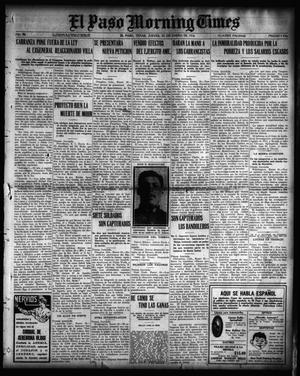 Primary view of object titled 'El Paso Morning Times (El Paso, Tex.), Vol. 36TH YEAR, Ed. 1, Thursday, January 20, 1916'.