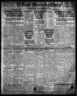 Primary view of object titled 'El Paso Morning Times (El Paso, Tex.), Vol. 36TH YEAR, Ed. 1, Sunday, February 13, 1916'.
