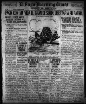 El Paso Morning Times (El Paso, Tex.), Vol. 36TH YEAR, Ed. 1, Friday, August 4, 1916