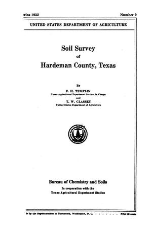 Primary view of object titled 'Soil survey of Hardeman County, Texas'.