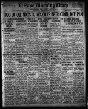 Primary view of object titled 'El Paso Morning Times (El Paso, Tex.), Vol. 36TH YEAR, Ed. 1, Sunday, November 12, 1916'.