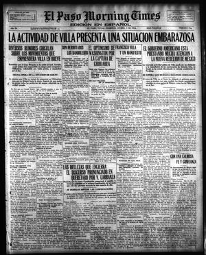 Primary view of object titled 'El Paso Morning Times (El Paso, Tex.), Vol. 36TH YEAR, Ed. 1, Sunday, December 3, 1916'.