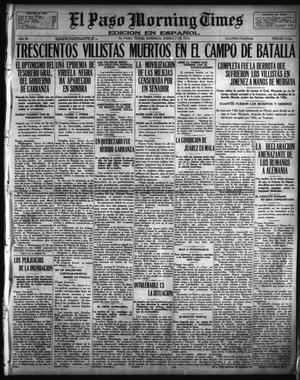 Primary view of object titled 'El Paso Morning Times (El Paso, Tex.), Vol. 36TH YEAR, Ed. 1, Sunday, January 7, 1917'.