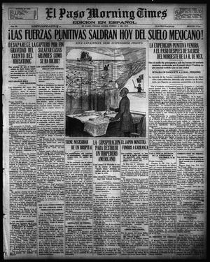 Primary view of object titled 'El Paso Morning Times (El Paso, Tex.), Vol. 36TH YEAR, Ed. 1, Monday, February 5, 1917'.