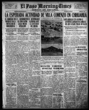 Primary view of object titled 'El Paso Morning Times (El Paso, Tex.), Vol. 36TH YEAR, Ed. 1, Friday, February 9, 1917'.