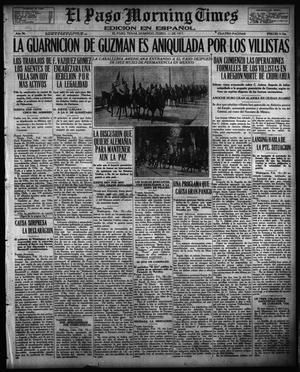 Primary view of object titled 'El Paso Morning Times (El Paso, Tex.), Vol. 36TH YEAR, Ed. 1, Sunday, February 11, 1917'.