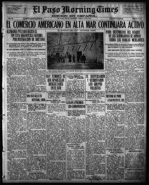 Primary view of object titled 'El Paso Morning Times (El Paso, Tex.), Vol. 36TH YEAR, Ed. 1, Tuesday, February 27, 1917'.