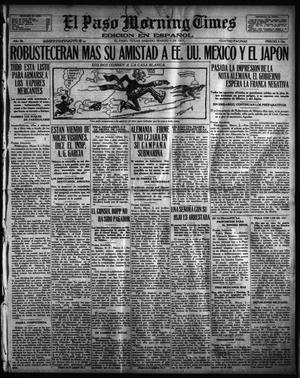 Primary view of object titled 'El Paso Morning Times (El Paso, Tex.), Vol. 36TH YEAR, Ed. 1, Saturday, March 3, 1917'.
