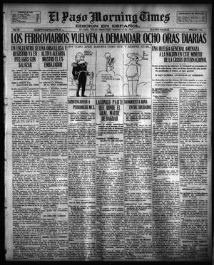 Primary view of object titled 'El Paso Morning Times (El Paso, Tex.), Vol. 36TH YEAR, Ed. 1, Wednesday, March 14, 1917'.