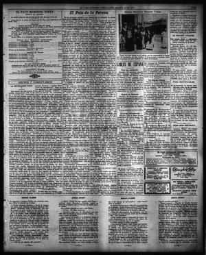 Primary view of object titled 'El Paso Morning Times (El Paso, Tex.), Vol. 36TH YEAR, Ed. 1, Monday, March 26, 1917'.