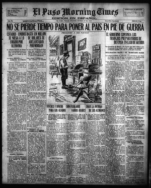 Primary view of object titled 'El Paso Morning Times (El Paso, Tex.), Vol. 36TH YEAR, Ed. 1, Tuesday, March 27, 1917'.
