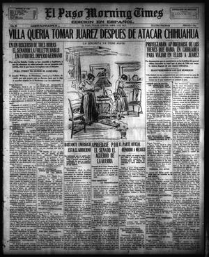 Primary view of object titled 'El Paso Morning Times (El Paso, Tex.), Vol. 36TH YEAR, Ed. 1, Thursday, April 5, 1917'.