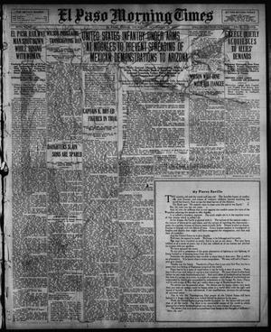 Primary view of object titled 'El Paso Morning Times (El Paso, Tex.), Vol. 36TH YEAR, Ed. 1, Thursday, November 25, 1915'.