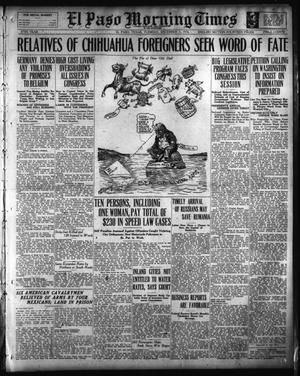 Primary view of El Paso Morning Times (El Paso, Tex.), Vol. 37TH YEAR, Ed. 1, Tuesday, December 5, 1916