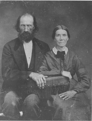 Primary view of object titled 'Alfred Madison Hightower and His Wife'.