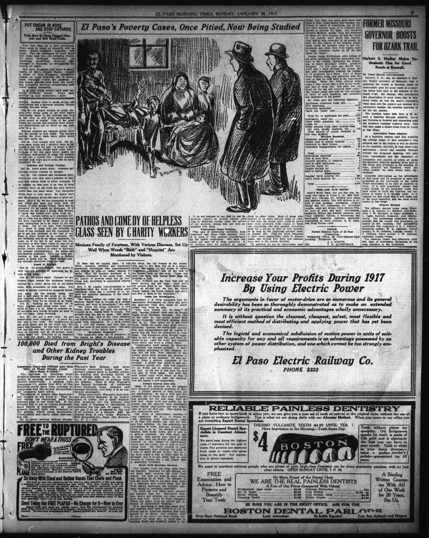 El Paso Morning Times (El Paso, Tex ), Vol  37TH YEAR, Ed  1
