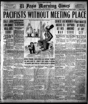 Primary view of object titled 'El Paso Morning Times (El Paso, Tex.), Vol. 38TH YEAR, Ed. 2, Saturday, September 1, 1917'.