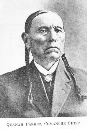 Primary view of object titled 'Quanah Parker as Comanche Judge'.