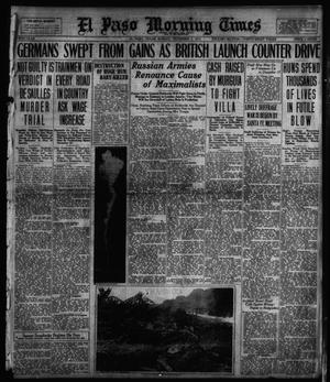 Primary view of object titled 'El Paso Morning Times (El Paso, Tex.), Vol. 38TH YEAR, Ed. 1, Sunday, December 2, 1917'.