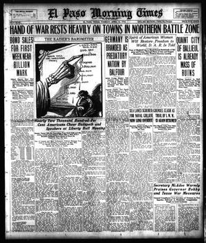 Primary view of object titled 'El Paso Morning Times (El Paso, Tex.), Vol. 38TH YEAR, Ed. 1, Tuesday, April 16, 1918'.