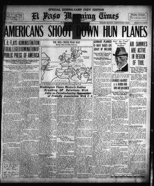 El Paso Morning Times (El Paso, Tex.), Vol. 38TH YEAR, Ed. 2, Sunday, May 26, 1918
