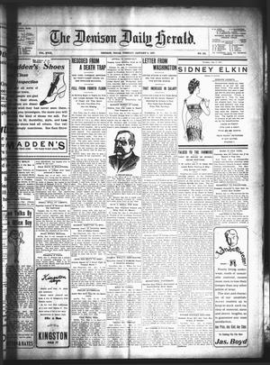 The Denison Daily Herald (Denison, Tex.), Vol. 18, No. 153, Ed. 1 Tuesday, January 8, 1907