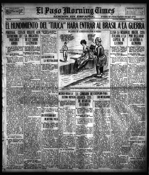 Primary view of object titled 'El Paso Morning Times (El Paso, Tex.), Vol. 36TH YEAR, Ed. 1, Thursday, May 24, 1917'.