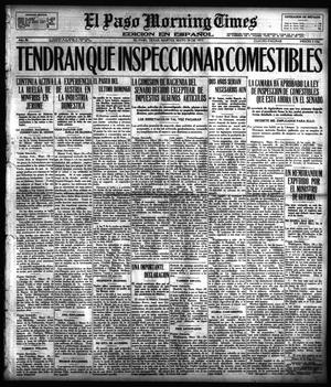 Primary view of object titled 'El Paso Morning Times (El Paso, Tex.), Vol. 36TH YEAR, Ed. 1, Tuesday, May 29, 1917'.