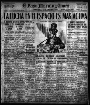 Primary view of object titled 'El Paso Morning Times (El Paso, Tex.), Vol. 36TH YEAR, Ed. 1, Sunday, June 3, 1917'.