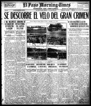 Primary view of object titled 'El Paso Morning Times (El Paso, Tex.), Vol. 36TH YEAR, Ed. 1, Friday, June 15, 1917'.