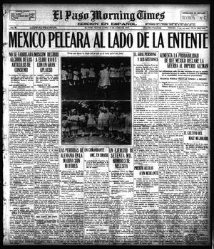 Primary view of object titled 'El Paso Morning Times (El Paso, Tex.), Vol. 36TH YEAR, Ed. 1, Monday, June 25, 1917'.