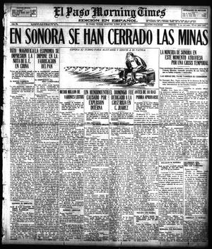 Primary view of object titled 'El Paso Morning Times (El Paso, Tex.), Vol. 36TH YEAR, Ed. 1, Tuesday, June 26, 1917'.