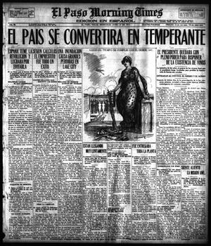 Primary view of object titled 'El Paso Morning Times (El Paso, Tex.), Vol. 36TH YEAR, Ed. 1, Wednesday, June 27, 1917'.
