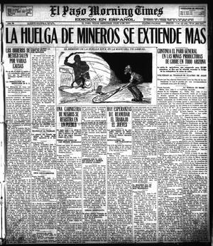Primary view of object titled 'El Paso Morning Times (El Paso, Tex.), Vol. 36TH YEAR, Ed. 1, Wednesday, July 4, 1917'.