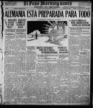 Primary view of object titled 'El Paso Morning Times (El Paso, Tex.), Vol. 36TH YEAR, Ed. 1, Friday, July 27, 1917'.