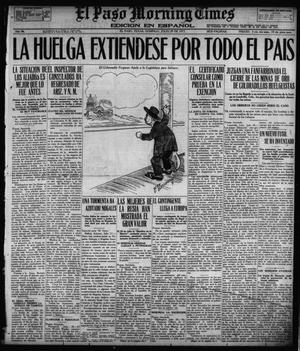 Primary view of object titled 'El Paso Morning Times (El Paso, Tex.), Vol. 36TH YEAR, Ed. 1, Sunday, July 29, 1917'.