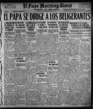 El Paso Morning Times (El Paso, Tex.), Vol. 36TH YEAR, Ed. 1, Friday, August 17, 1917