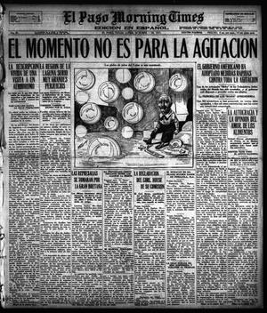 Primary view of object titled 'El Paso Morning Times (El Paso, Tex.), Vol. 38TH YEAR, Ed. 1, Monday, October 1, 1917'.