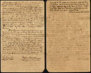 Primary view of object titled '[Probate order by Wyly Martin]'.