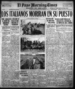 El Paso Morning Times (El Paso, Tex.), Vol. 38TH YEAR, Ed. 1, Thursday, November 1, 1917