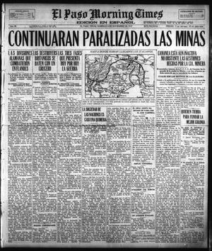 Primary view of object titled 'El Paso Morning Times (El Paso, Tex.), Vol. 38TH YEAR, Ed. 1, Sunday, November 4, 1917'.