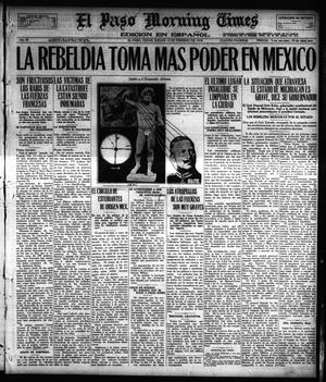 Primary view of object titled 'El Paso Morning Times (El Paso, Tex.), Vol. 38TH YEAR, Ed. 1, Thursday, February 14, 1918'.