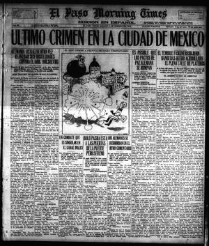 Primary view of object titled 'El Paso Morning Times (El Paso, Tex.), Vol. 38TH YEAR, Ed. 1, Saturday, February 16, 1918'.