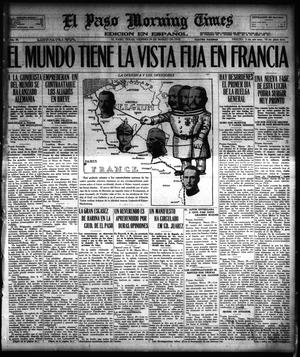 Primary view of object titled 'El Paso Morning Times (El Paso, Tex.), Vol. 38TH YEAR, Ed. 1, Friday, March 29, 1918'.